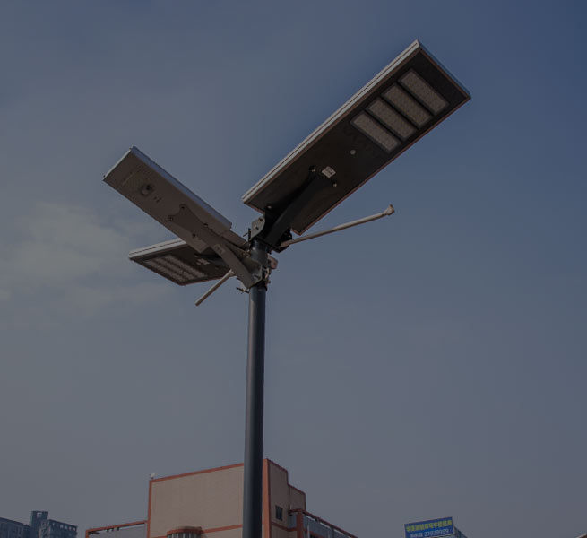 solar pole lights