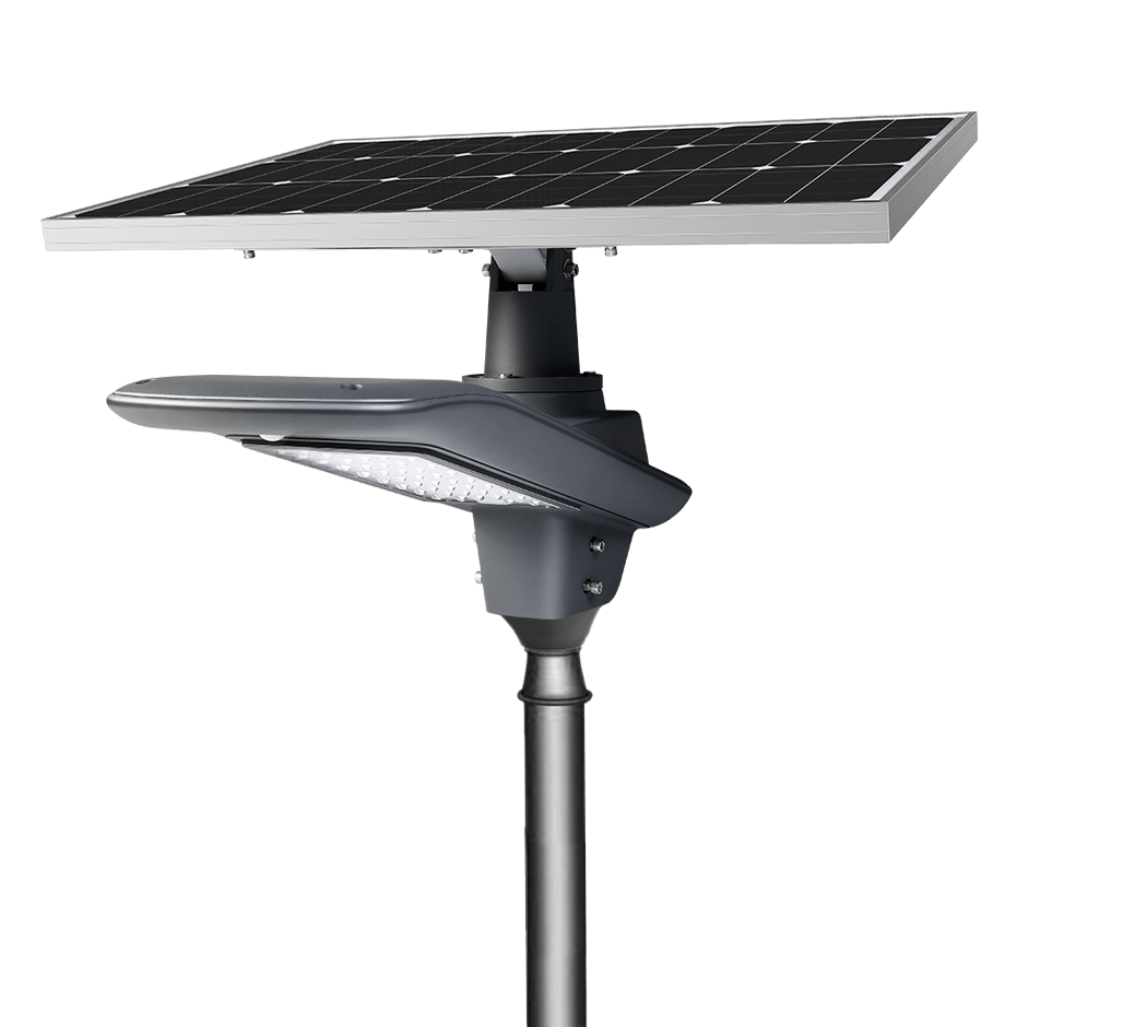 split type solar led street light