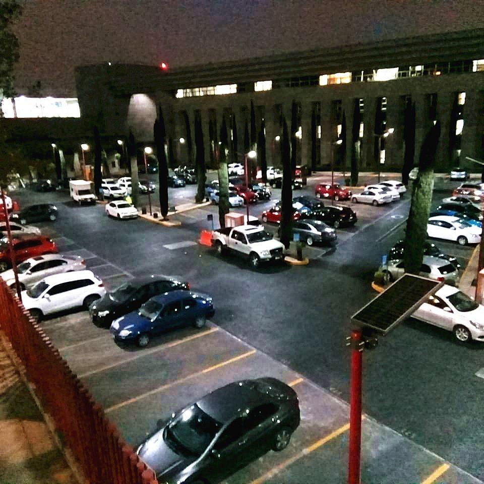 car parking solar light
