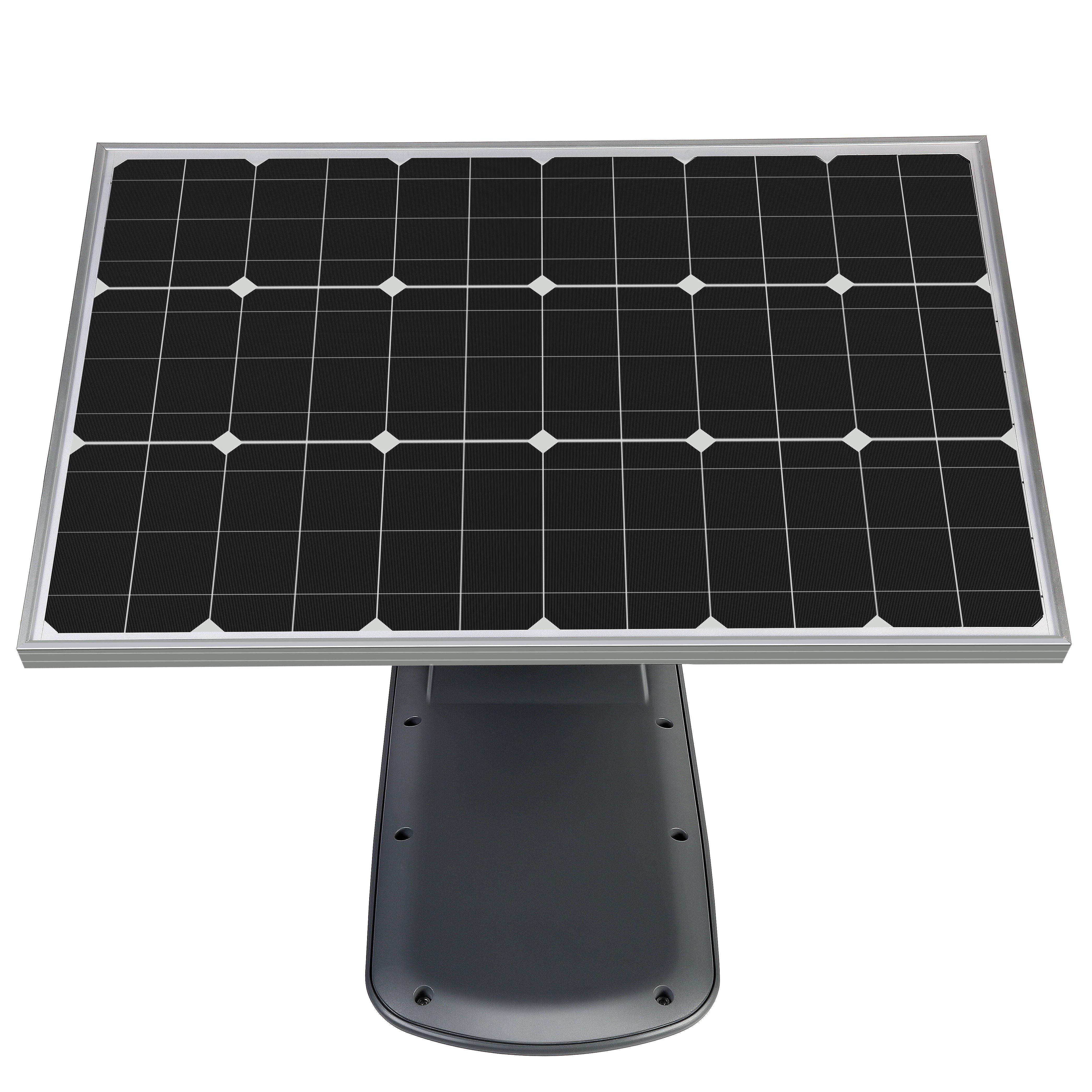 Mono crystalline silicon street light with separate solar panel