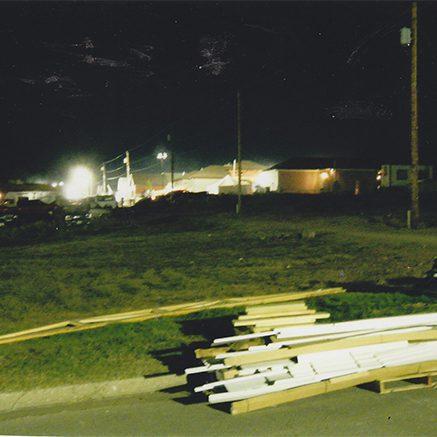 luxman solar construction site light