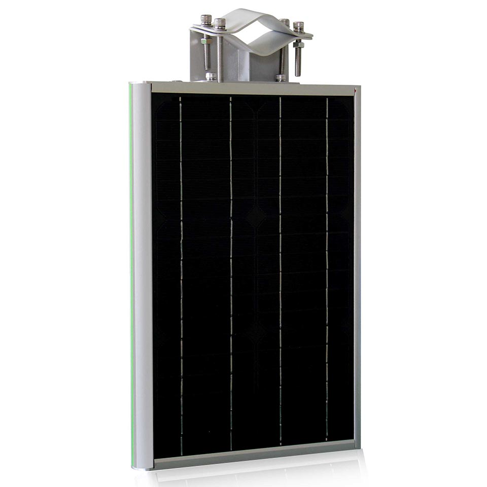 solar panel poly si polysilicon side view