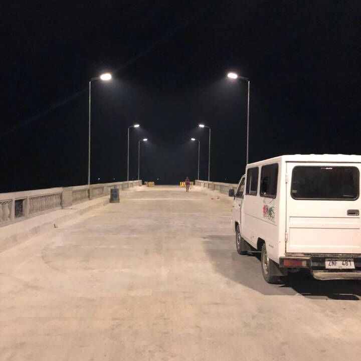 solar road light
