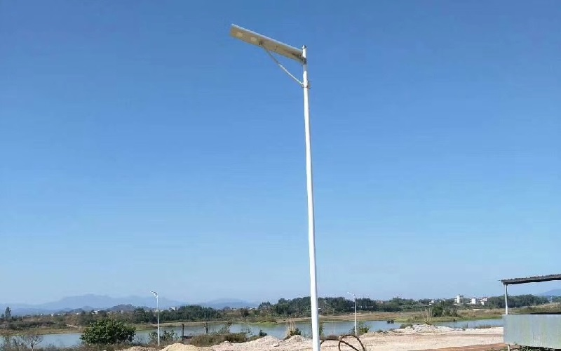 solar outdoor light helps to rural renewal in china