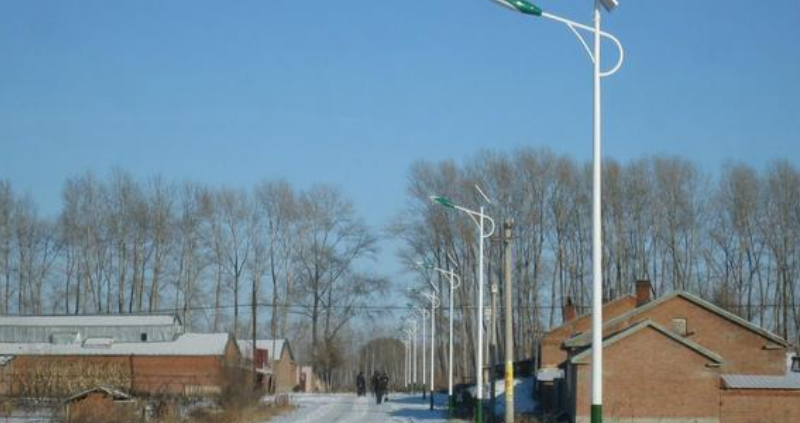 solar street light rural