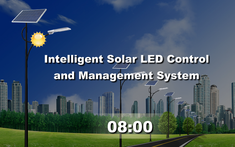 smart solar street light system
