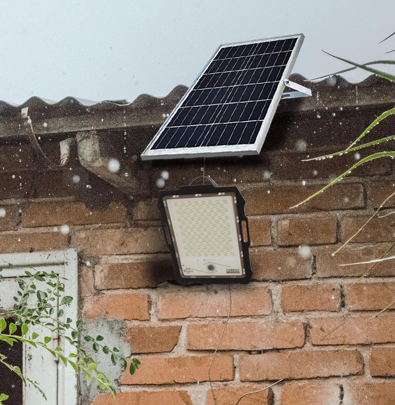 solar powered led flood light