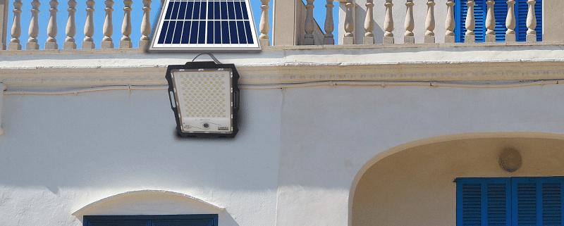 solar flood light project