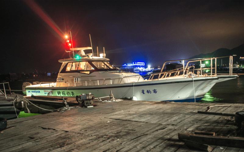solar boat navigation light