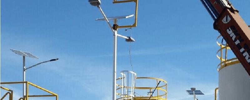 solar light project