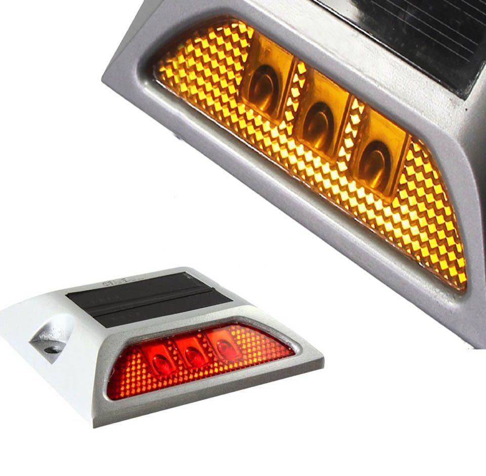 solar road studs light